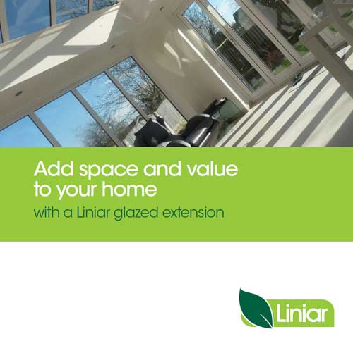 add space and value to your home with a liniar glazed extension