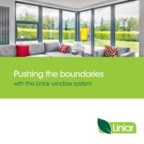 pushing the boundaries with the liniar window system