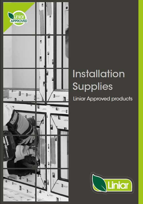 installation supplies liniar approved products