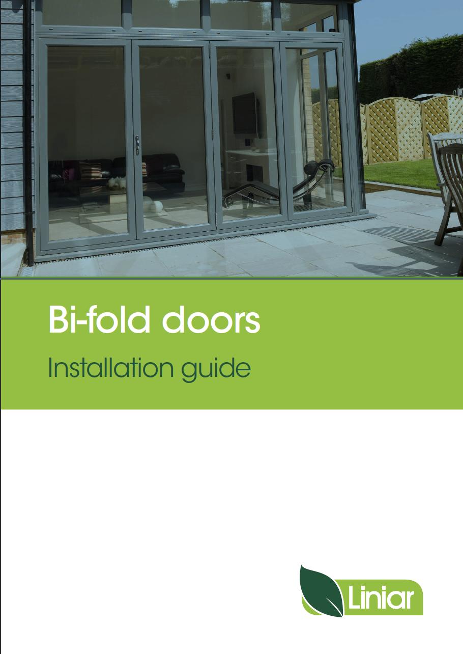 bifold doors installation guide liniar