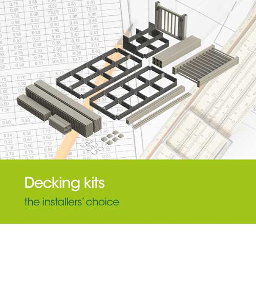 decking kits the installers choice