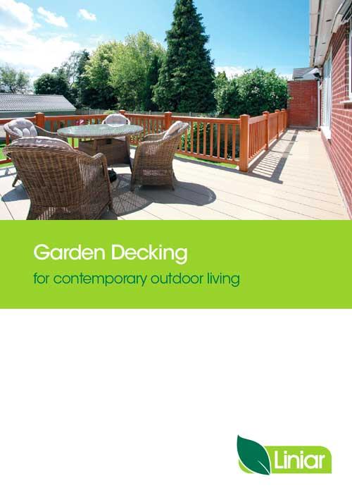 garden decking for contemporary outdoor living liniar