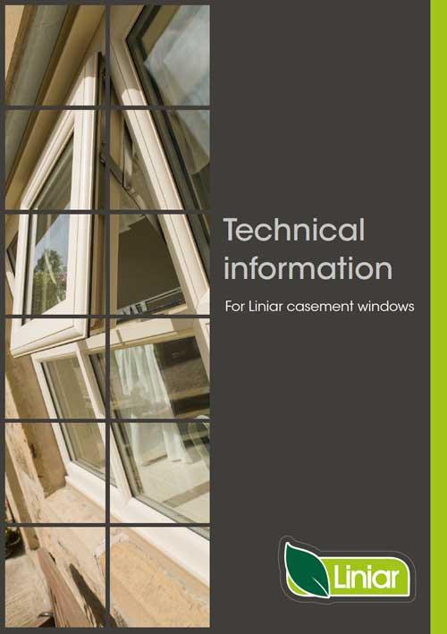 technical information for liniar casement windows