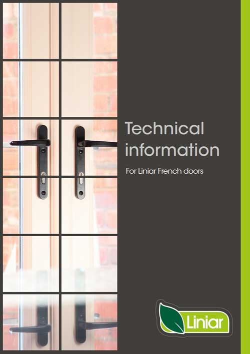 technical information for liniar french doors