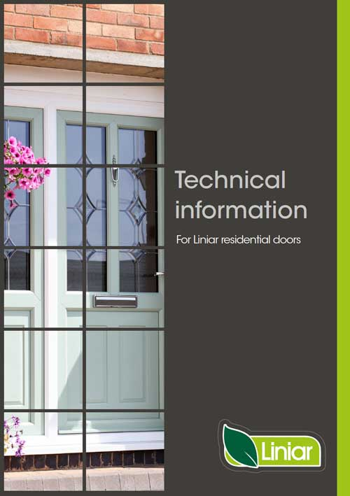 technical information for liniar residential doors