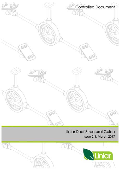 Liniar roof structural guide