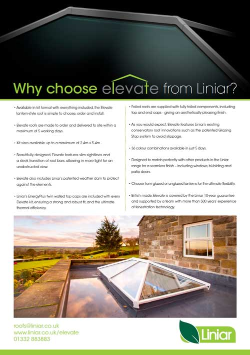 Why choose elevate from liniar