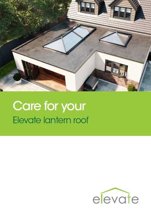care for your elevate lantern roof