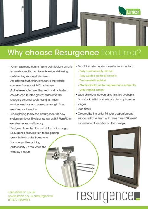 why choose resurgence from liniar