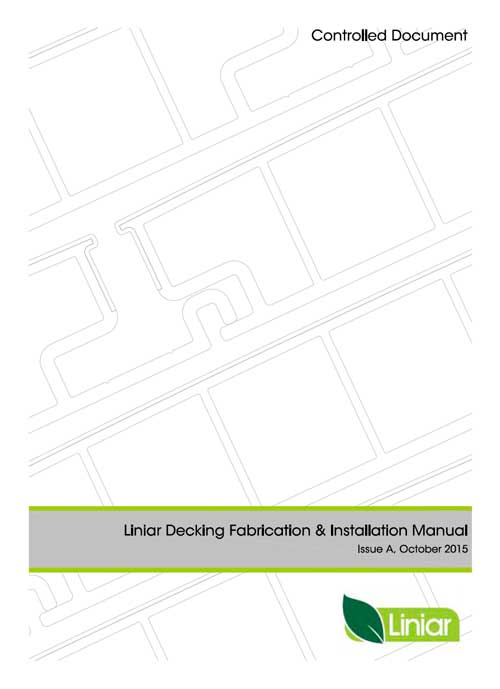 liniar decking fabrication and installation manual