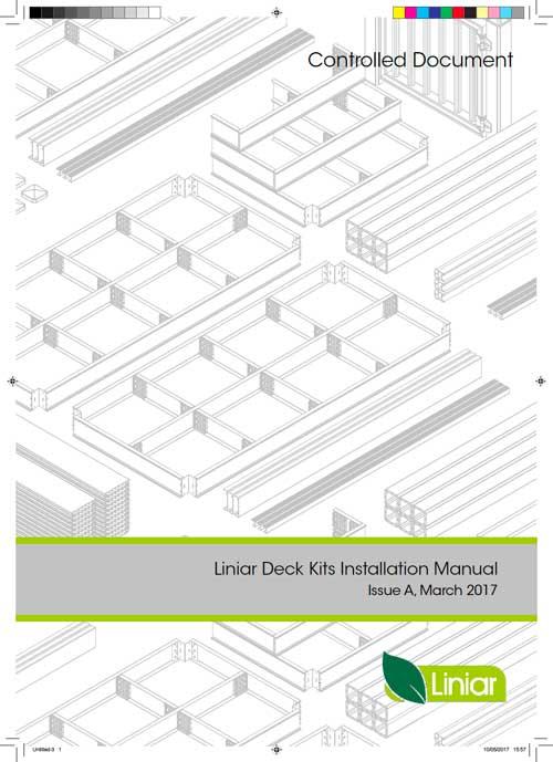 Liniar deck kits installation manual thumbnail