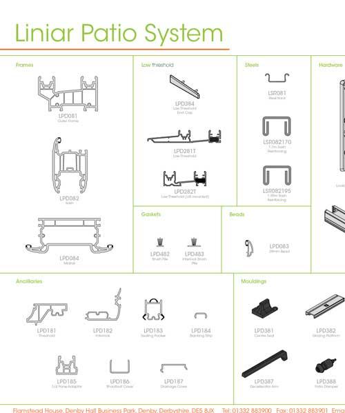 liniar patio system