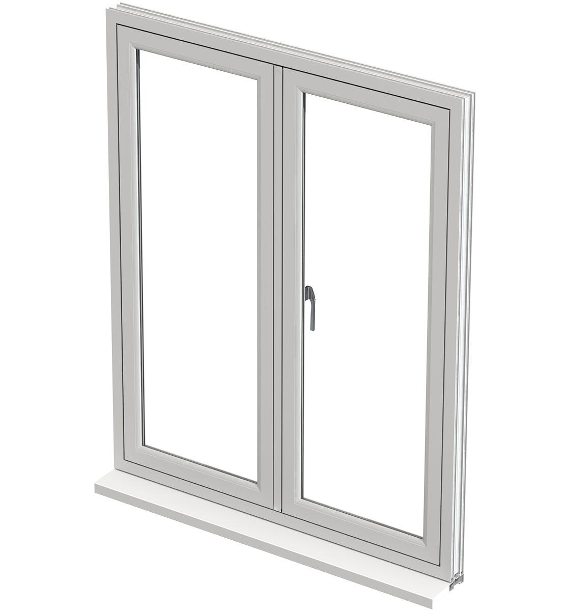 flush sahs windows