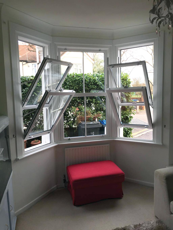 grey upvc sash windows bristol